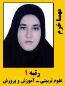 مهسا خرم رتبه 1 کارشناسی ارشد 98 علوم تربیتی - آموزش و پرورش مدرسان شریف